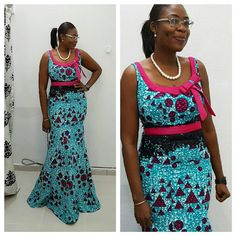 Lovely Ankara Gown Design for Ladies http://www.dezangozone.com/2016/04/lovely-ankara-gown-design-for-ladies.html