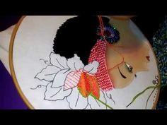 Idea que usar para hacer Cabello africana bordado - YouTube