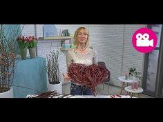 DIY-Anleitung: herzliche Geschenke mit Blumen - YouTube