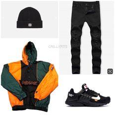 Boys Fashion Dress, Boy Fashion, Fashion Edgy, Fashion Ideas, Dope Outfits For Guys, Swag Outfits Men, Streetwear Fashion, Streetwear Men, Pretty Girl Swag