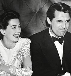 During the making of His Girl Friday, Cary and I would occasionally go out to dinner and to dance. He'd call up and ask would I like to go jigging, and I'd spend three days getting ready, piling on everything Elizabeth Arden had to offer and then some.  - Rosalind Russel (Life is a Banquet)