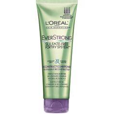 Loreal Everstrong Rosemary Mint Conditioner.  All L'Oreal Everstrong shampoos and conditioners are vegan. JDV