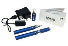 2X EVOD Elektronische moderne shisha pen oplaadbaar en hervulbaar GIFT BOX SET kleur € 28,95 Kijk voor meer info op onze site. #Shisha #stoppenmetroken #aanbieding #gezond #health #newlifestyle  #demarktbijuthuis #giftidea