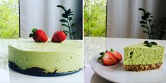 Cheesecake, Matcha, Tea, Food, Cheesecakes, Essen, Meals, Eten