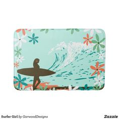 Surfer Girl Bath Mathttp://www.zazzle.com/surfer_girl_bath_mat-256240591429327445?CMPN=shareicon&lang=en&social=true&view=113520881236988386&rf=238588924226571373