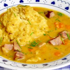 Newfoundland Style Ham and Split Pea Soup with Dough Boys -satisfying local comfort foods you can find. Nowadays, starting with the leftovers from a baked ham dinner, it's a smart, easy, tasty and economical addition to any family meal plan. Family Meal Planning, Family Meals, Newfoundland Recipes, Newfoundland Canada, Ham Dinner, Canadian Food, Canadian Recipes, Rock Recipes, Baked Ham