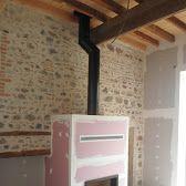 Foyer à bois ATRA 800 (Groupe JOTUL ) de fabrication française simple face…