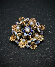 Clasp, Hungary, late 16th century | Flickr - Photo Sharing! #GoldJewellery16ThCentury