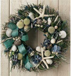 Summer Shore Wreath | Beach and Nautical