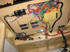 Model train wiring