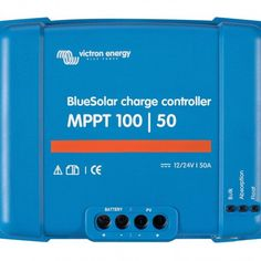 You can order the Victron SmartSolar MPPT Bluetooth integrated at Solar Power Supply. The online store with a complete range of smart charge controllers, solar panels and generators. Bluetooth, Sistema On Grid, Installation Solaire, Solar Power Energy, Electromagnetic Radiation, Usb, Solar Charger, Off The Grid, Van Life
