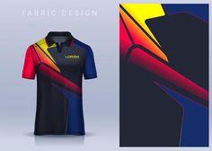 Team Shirts, Sport T Shirt, Textile Design, Soccer, Football, Sports, Fabric, Shirt Designs, Photograph