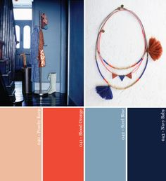 color palette blue | ... Yourself: Moody Blues + Copper Hues Party Color Palette | Studio DIY