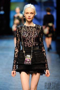 Dolce & Gabbana Outono-Inverno 2010-2011 - Prêt-à-porter