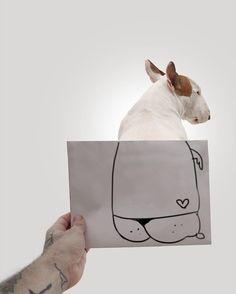 E o sucesso do cãozinho e das ilustrações de Rafael fez com que o artista fosse procurado por uma empresária para lançar uma coleção de acessórios inspirada no animal
