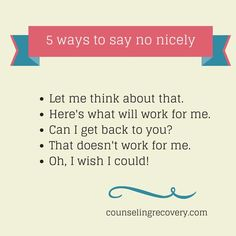 If you struggle with people pleasing, seeking approval, saying yes when you mean no it's likely codependency. Learning how to saying no is the first step in 12 step recovery from people pleasing.