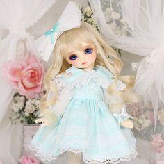 구체관절인형 & 돌피드림 쇼핑몰 - 돌스앤 (cudd-018) Girls Dresses, Flower Girl Dresses, Harajuku, Wedding Dresses, Flowers, Clothes, Style, Fashion, Dresses Of Girls