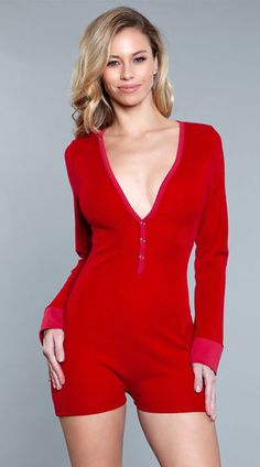 Casey Lounge Romper, Long Sleeve Romper - Yandy.com Long Sleeve Romper, Lingerie Sleepwear, Workout Shorts, Lounge, Rompers, Plus Size, Sexy, Sleeves, Dresses