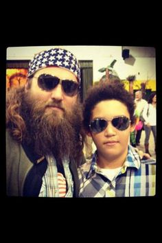 Duck Dynasty Willie and lil' Will
