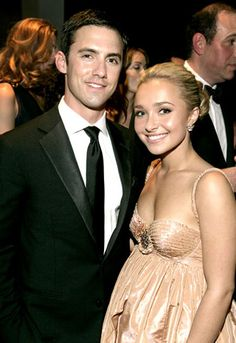 Photo of Milo Ventimiglia & her friend  Hayden Panettiere