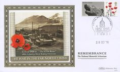 WWII First Day Covers   Remembrance [Commemorative Sheet], WWII - War in Far North 28th October, First Day Covers, Postage Stamps, Wwii, World War Ii, Stamps