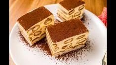 Tiramisu recept - YouTube Diet Recipes, Cake Recipes, Dessert Recipes, Dessert Ideas, Hungarian Recipes, Sweets Cake, Gluten Free Diet, Food Cakes, A 17