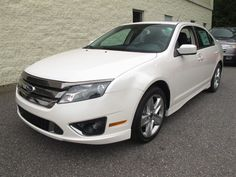 At Paramount Ford, New 2012 #Ford Fusion, White Platinum Metallic Tri-Coat, $30,388, Sold!