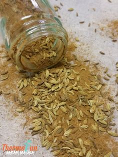 """Looking for ways to spice up your meals then thermomix spice blends are the perfect way to add some extra flavour or spice to an otherwise """"normal"""" dinner! Spice Blends, Spice Mixes, Garam Masala, Sauces, Masala Recipe, No Sugar Foods, Fennel Seeds, Foods To Eat, Different Recipes"""