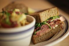 Sandwich at Publican Quality Meats (Chicago, IL). #UniqueEats #sandwich