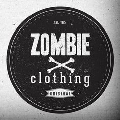 zombie clothing logo - Clothing Design Ideas