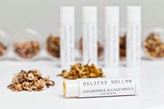 Organic Herbal Lip Balm  Chamomile and Calendula  by HalifaxHollow