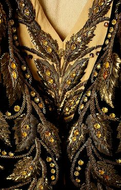 1939 Elsa Schiaparelli You know all that beading had to be by hand.