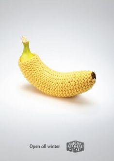"spaceman70: "" yamayoezokkuma: "" muhuhu: ""Calgary Farmers' Market: Banana | Ads of the World "" """