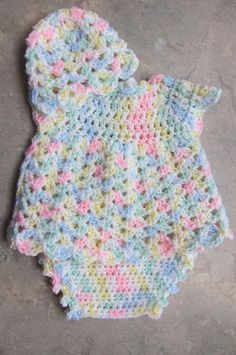 Craft Passions, Baby Dress Set: FREE crochet patterns