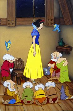 The end by Rodolfo Loaiza Snow White