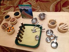 Early Years ideas from Tishylishy Morning Activities, Water Activities, Activities For Kids, Water Tray, Sand Tray, Dry Sand, Sand And Water, Learning Spaces, Learning Environments