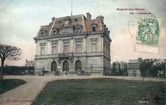 Image Nogent Sur Marne, Louvre, Mansions, House Styles, Building, Travel, Image, Lugares, Antique Post Cards