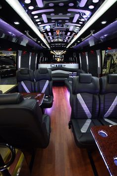 private jet interior, fantastic, reminds me of my limmo days, love it