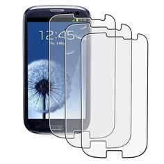 Find More Phone Bags & Cases Information about 5PCS For Samsung Galaxy S3 i9300 neo Screen Protector HD Clear Protective Film Cover Case Protection Mobile Phone Accessories,High Quality for samsung galaxy,China mobile phone accessories Suppliers, Cheap phone accessories from Geek on Aliexpress.com