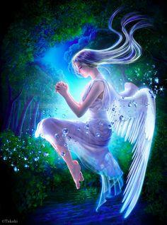 Beautiful Fantasy Art by Takaki   Cuded