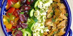 Mondays are best with this monster fattoush-inspired salad.
