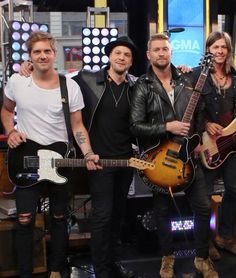 "NTB + Gavin Degraw preformed ""Brother"" on Good Morning America 2015"