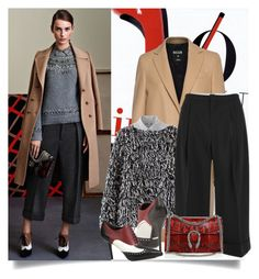 """""""Culotte Style..."""" by unamiradaatuarmario ❤ liked on Polyvore featuring MSGM, Uniqlo, 2NDDAY and Gucci"""