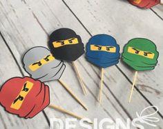 Personalisierte Ninjago inspirierte Tshirts von MonkeyMooseTater