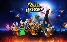 Rabbids Heroes, 2017 games, 5K, Android