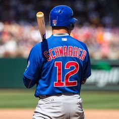 Kyle Schwarber, #12, Catcher, Chicago Cubs