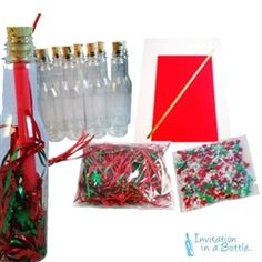Message in a Bottle Christmas Party Invitations & Ideas Christmas Holidays, Christmas Decorations, Corporate Invitation, Do It Yourself Kit, Christmas Invitations, Message In A Bottle, Messages, Decorating Ideas, Party Ideas