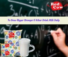 Grow stronger & wiser with Fresh & pure milk from redcowdairy.in