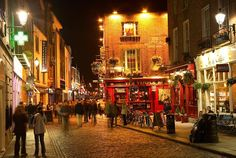 Temple Bar, Dublin - check. Been by & in here too!