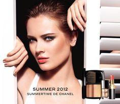 Summertime de Chanel 2012 with Monika Jagaciak